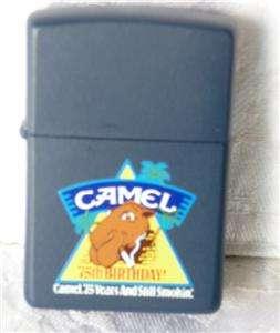 Zippo 75th Anniversary Joe Camel, Cigarette Lighter, New75 Years and