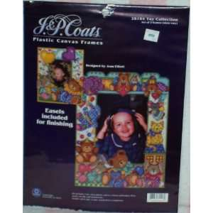 Plastic Canvas Frame Kit: Toy Collection (2 Frames):