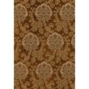 Sanderling Paisley Tobacco by F Schumacher Fabric: Arts