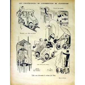 LE RIRE FRENCH HUMOR MAGAZINE MOTOR CAR COMEDY CARTOON: Home & Kitchen