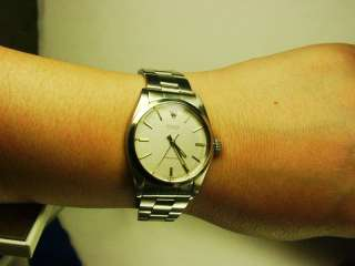 manual winding watch! Original 7835 bracelet!! Good Condition!