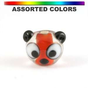 13mm Assorted Colors Panda Head Beads Arts, Crafts & Sewing