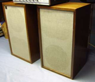 Nice Pair Vintage Acoustic Research AR2a Loudspeakers Speakers w