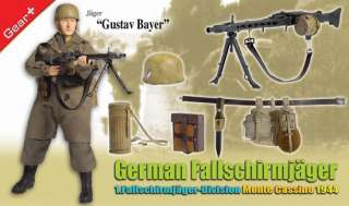 Dragon 1/6 WWII German 12 Fallschirmjager Gustav Bayer