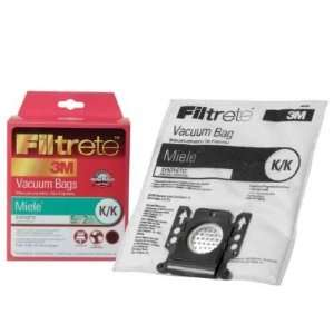 Miele Type K/K Filtrete 3M Vacuum Dustbags for S142   S168