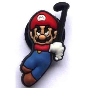 Mario in Super Mario Bros Nintendo Jibbitz Crocs Hole Bracelet Shoe
