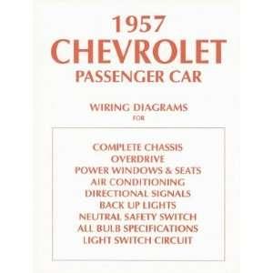 1957 CHEVROLET Wiring Diagrams Schematics Automotive