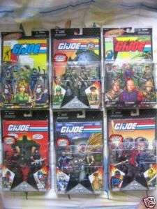 GI Joe Comic Pack Cobra Duke Jaye October Guard Gung Ho