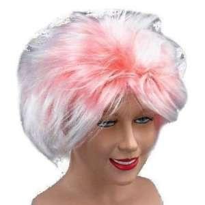 Rock Star Pnk Style Fancy Dress Wig Inc FREE Wig Cap Toys & Games
