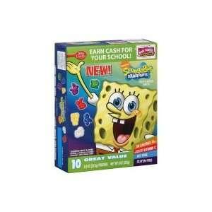 Betty Crocker Fruit Flavored Snacks, Nickelodeon SpongeBob SquarePants