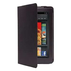CE Compass  Kindle Fire 360° Rotating Magnetic Leather Case