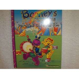 Color & Activity Book ~ Parade & Carnival Fun ~ 96 Pg Toys & Games