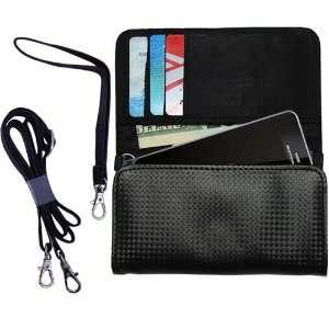 Black Purse Hand Bag Case for the Motorola MILESTONE 3
