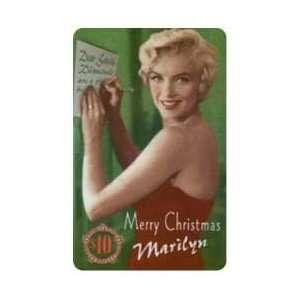 Marilyn Collectible Phone Card $10. Marilyn Monroe Merry