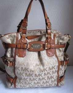 498 MICHAEL KORS Luggage GANSEVOORT LG Tote Bag Handbag