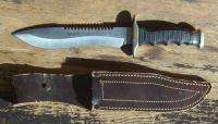 GREAT MUELA SURVIVAL KNIFE & SHEATH !!!