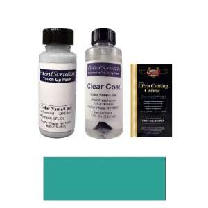 2 Oz. Medium Teal Blue Metallic Paint Bottle Kit for 1994