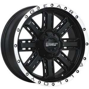 Gear Alloy Nitro 20x9 Black Wheel / Rim 5x5.5 & 5x150 with