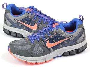 Nike Wmns Air Pegasus+ 28 Trail Cool Grey/Bright Mango Dark Grey Blue