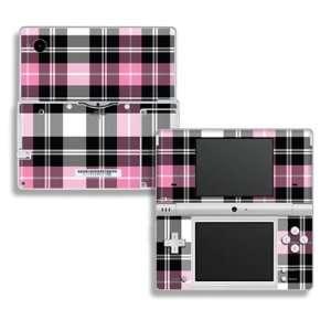 Pink Plaid Design Decorative Protector Skin Decal Sticker