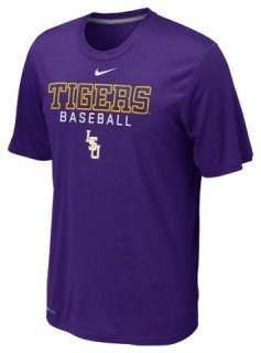 LSU TIGERS NEW NIKE 2012 BASEBALL LEGEND TEE SHIRT XL