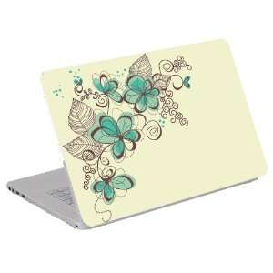 Laptop Skin / Notebook Art Decal (Computer Skin) Trim to