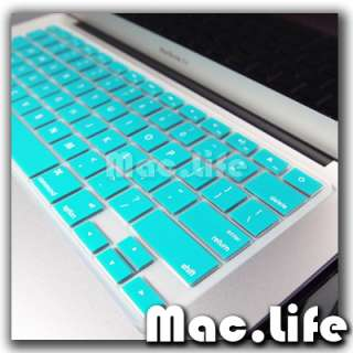 AQUA BLUE Keyboard Cover Skin for NEW Macbook Air 13