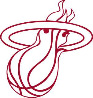 Miami HEAT Logo * Window Wall STICKER * Vinyl Car DECAL ~ ANY COLOR