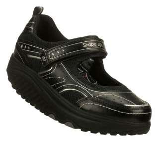 SKECHERS Shoe Women 12308 Mary Jane New Black Shape Ups