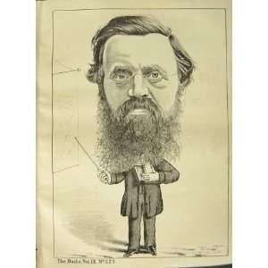 Portrait 1877 Mr James Leitch Rector Bailie Glasgow