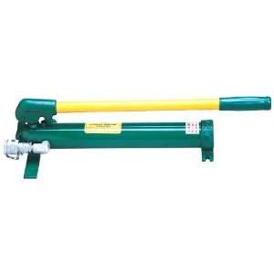 Greenlee 755 High Pressure Hydraulic Hand Pump: Home