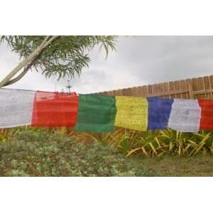 Flags extra Long Guru Rinpoche Flags 27 Feet Long: Everything Else