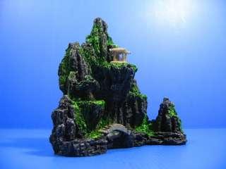 Mountain View Aquarium Ornament tree   Rock Cave Bridge