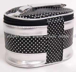 Hello Kitty Travel Cosmetic Bag 3pcs Set w/ Mirror I7UG