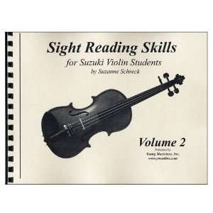 Reading Skills For Suzuki Violinist, Volume 2): Suzanne Schreck: Books