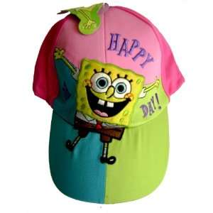 Spongebob Squarepants Baseball Cap Hat   Colorful Cute Cap