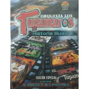 DVD HISTORIA MUSICAL ORQUESTA LOS TUPAMAROS Movies & TV