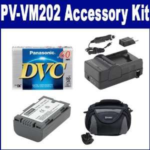Panasonic PV VM202 Camcorder Accessory Kit includes