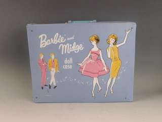 Vintage 1950s   60s Mattel Barbie Midge Dolls, Clothes & Case Lot