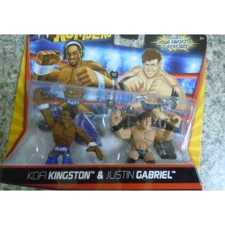 WWE Wrestling Rumblers Mini Figure 2Pack Wade Barrett John