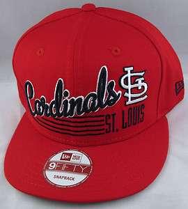 MLB World Series NL St. Louis CARDINALS Cap New Era Snapback Hat NWT