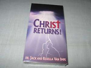 CHRIST RETURNS! VHS Dr. Jack Van Impe NEW