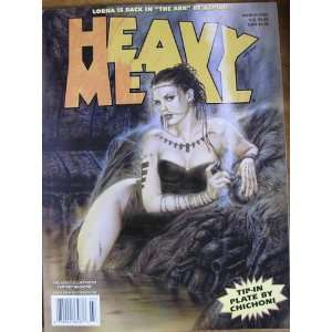 Heavy Metal, March 2002 editor Kevin Eastman Books