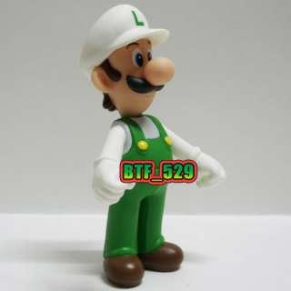New Super Mario Brothers Action Figure ( 5 Fire Luigi ) x 1pcs