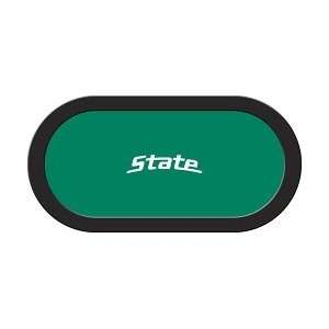 Michigan State Spartans 48 x 96 Texas Holdem Game Table