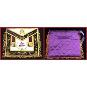 Past Illustrious Master York Rite Freemason Masonic Apron