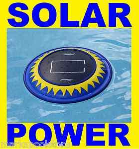 SOLAR POWERED COPPER SWIMMING POOL IONIZER WATER PURIFIER SOLAR CLEAR