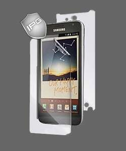 IPG Samsung GALAXY Note AT&T Invisible Cover Shield FULL BODY Case