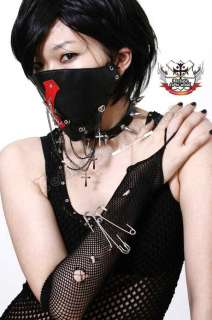 GOTHIC DOLL X TREME Visual Kei Jrock PVC LEATHER MASK H