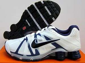 NIKE SHOX ROADSTER+ RUNNING [487604 104] White Black Loyal Blue